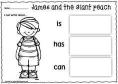 Printables James And The Giant Peach Worksheets james and the giant peach character description writing frame print go packet teacherspayteachers com