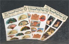 tissue decoupage papers
