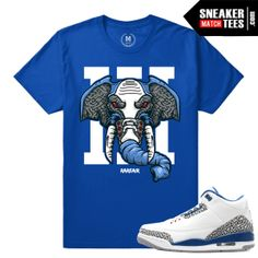 2f26e7beabff Jordan 3 True Blue Match Shirt Retro 3 True Blue