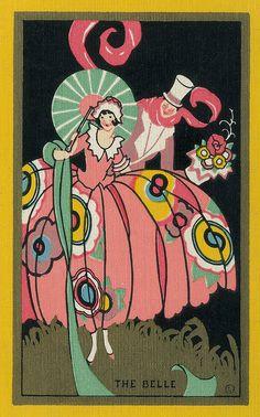 Alle Größen | Vintage Bridge Playing Card, circa late 1920s | Flickr - Fotosharing!