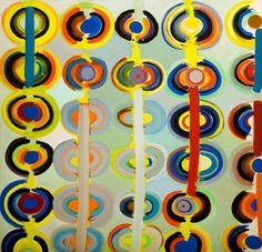 Terry Frost Showing at both Newlyn Art Gallery and The Exchange October 2015 – January 2016 Autumn Rings Andeuze, September 1971 1983 Acrylic paint on canvas Sonia Delaunay, Painting Collage, Acrylic Painting Canvas, Nadir Afonso, Peter Wood, Leeds Art Gallery, Art Uk, Large Art, Geometric Art