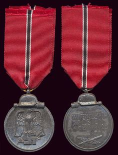 1941-1942 Winter Campaign in Russia Medal. The German Soldiers called that the Frozen Meat Medal