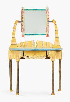 Animal Furniture by Gérard Rigot (Miss Moss) Hand Painted Furniture, Recycled Furniture, Furniture Sale, Unique Furniture, Kids Furniture, Furniture Making, Furniture Design, Wallpaper Furniture, Home Wallpaper