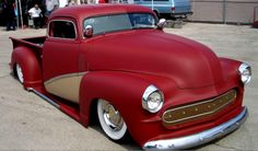 Flat Red Chev customized