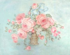 Mother's Roses - Debi Coules Romantic Art