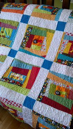 #modern crazy quilt, RobertKaufman