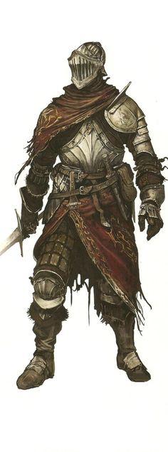 "gravelorded: "" Alva the Wayfarer, Dark Souls II Design Works """