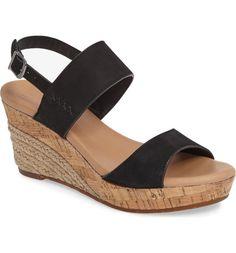 Main Image - UGG® Elena Platform Wedge Sandal (Women)