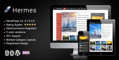 Hermes - Responsive WordPress Theme - http://fitwpthemes.com/hermes-responsive-wordpress-theme/