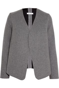 J.W.Anderson | Neoprene-effect wool-blend jacket | NET-A-PORTER.COM
