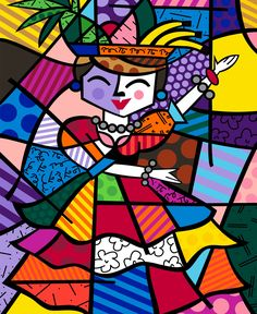 Romero Britto (6 October 1963) is a Brazilian Neo-pop artist, painter,serigrapher, and sculptor. He combines elements of cubism, pop art and graffiti painting in his work. Britto has lived in Miami, Florida since 1989. Consistently challenging himself, Britto has completed other corporate works for Movado, Disney, Enrico Coveri, Pepsi, the United Nations, BMW and Royal Caribbean Cruises. Britto has one main art gallery in Miami, on South Beach on Lincoln Road.