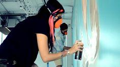 Mural en EDGEBOUND / ARTMOR by Dia Pacheco, via Behance