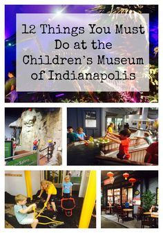 Awesome Children's Museum in Indianapolis - lots of cool things to do here.