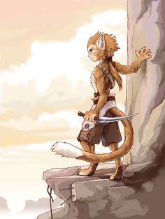anthro cat | Anthro Male Cat (Ruekshameeru~ISFJ, Constellation: Aquarius, Birth: February 16th, Animal: Cat)