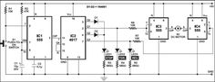 CIRCUIT: DC MOTOR CONTROL USING A SINGLE SWITCH