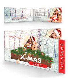 #einladungskarte #weihnachten #christmas. Christmas
