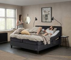 With pleasant Scandinavian designs, inspired by the fabulous Norwegian nature and sleep comfort of the highest quality, Jensen beds are made in order for . Bedroom Lighting, Scandinavian Design, Comforters, Toddler Bed, Sleep, Bedside Tables, Inspiration, Furniture, Home Decor