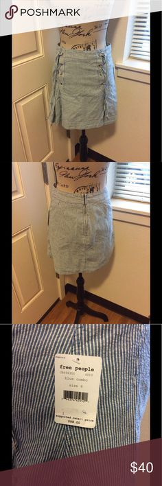 FREE PEOPLE SKIRT NWT pretty free people skirt ! Free People Skirts