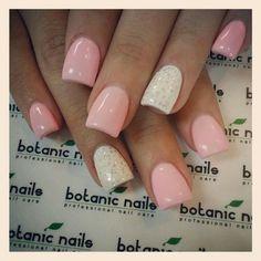 Soft color nails