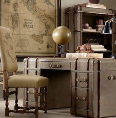 Steam trunk furniture