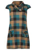 Womens *Izabel London Beige Cap Sleeve Shift Dress- Beige