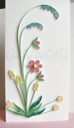 Quilling with Fun: February 2012