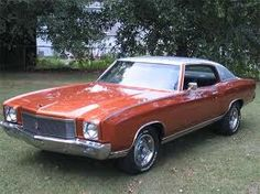 1971 Chevy Monte Carlo~My 1st car