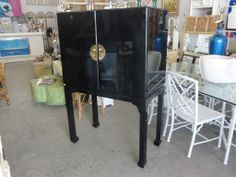 Ming Style Lacquered Cabinet