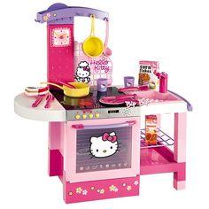 Cocina electrónica Hello Kitty  (Toys r us)