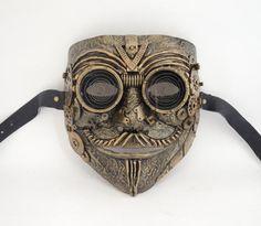 Steampunk techno fantôme mascarade masque anonyme V pour
