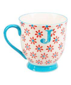Love this Letter 'J' Bohemian Mug on #zulily! #zulilyfinds