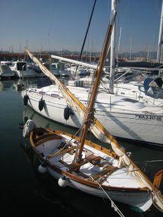Barques, fusta, mar, vent...