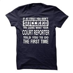 Court Reporter T-Shirt #tee #shirt. GET YOURS => https://www.sunfrog.com/LifeStyle/Court-Reporter-T-Shirt-50220532-Guys.html?id=60505