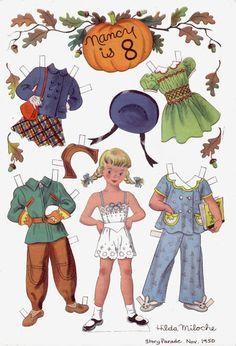 Image result for hilda miloche paper dolls