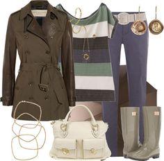 Outfits de Moda ...Me Tomo Cinco Minutos: DÍAS DE LLUVIA