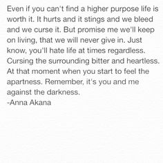 Against the Darkness by Anna Akana