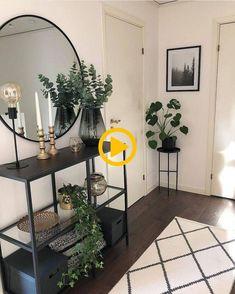 38 ideas home living room design plants for 2019 Home Living Room, Living Room Designs, Living Room Decor, Bedroom Decor, Dining Room, Small Condo Living, Nordic Living Room, Small Room Bedroom, Coastal Living