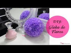 DIY: Globo de Flores - YouTube