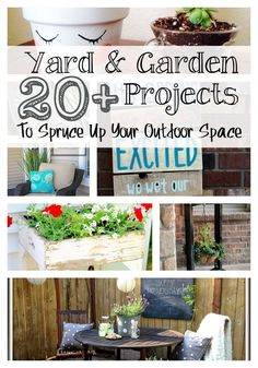 20 Yard and Garden Projects | Live Randomly Simple