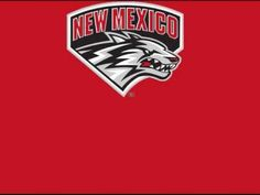 University of New Mexico Lobos - fight song with words - Hail New Mexico