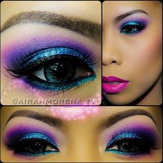 Love this look that the beautiful @airahmorena08 created!