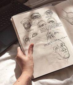 Art Hoe Aesthetic, Aesthetic Drawings, Arte Sketchbook, Gcse Art, Art Drawings Sketches, Light In The Dark, Art Inspo, Art Reference, Anime Art
