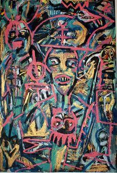 Timothy archer Faire danser la mort Oil on Paper on Canvas 120X80cm 2013