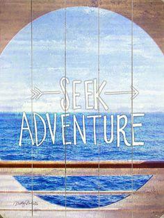 Seek Adventure Wall Decor