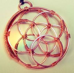 Seed of Life / Flower of Life pendant sacred geometry esoteric by InwardArt