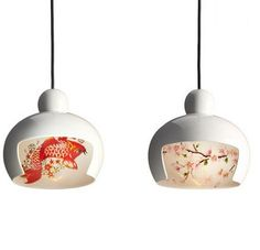 Japanese Style Geisha Hand-Painted Modern LED Pendant Lights Fixtures For Home Dining Room Hanging Lamp Suspension Luminaire