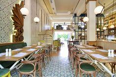 Restaurante grego no bairro Kifissia em Atenas (Foto: Ioanna Roufopoulou / divulgaçã)