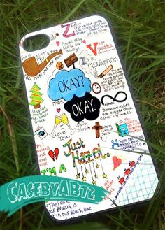 The fault in our stars 2  iPhone 4/4s/5 Case  by CasebyAB72, $15.00