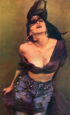 by herb ritts, like a prayer, Rolling Stone 1989
