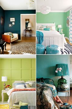 The 3 Most Relaxing Colors for Your Bedroom via Brit + Co.